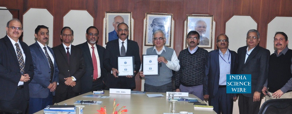 CSIR and BHEL join hands for commercialisation of indigenous technologies--India Science Wire
